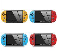 휴대용 x7 게임 플레이어 8GB 미니 핸드 헬드 게임 콘솔 4.3inch TFT 스크린 LCD 디스플레이 엔터테인먼트 비디오 시스템 어린이 선물