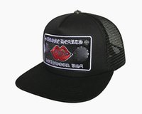 موجة كاب إلكتروني التطريز منحنى أزياء قبعات الذكور الهيب هوب السفر قناع شبكة الذكور الإناث الصليب الشرير قبعة البيسبول