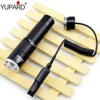 Contrôleur de pression de la queue de rat Contrôleur T6 LED Light Light Waterproof Alightpower 18650 Battery Piles Lampes de poche Torches