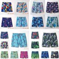 02 swim quick drying men's beach pants turtle vilebrequin fashionable urban leisure hip hop printed shorts swimwear swimming trunkssu
