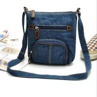 For Women Casual Denim Crossbody Fashion Bags Female Shoulder Bag Pack Travel Zipper Handbag Tote Ladies Messenger OOC8