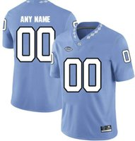 Professional Custom Jerseys NCAA North Carolina Tar Heels College Football Jersey Logo Any Number And Name All Colors Mens Football Jersey a0