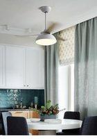 Deckenventilatleuchte LED modern minimalistisch mit Esszimmer Wohnzimmer Haushaltsbedingung Elektrische Fans