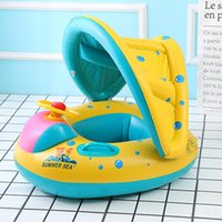 Summer Swimming Ring Baby Float Inflatable Steering Wheel Su...