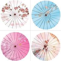 우산 82cm 중국 우산 일본 고전 기름진 종이 일시 중단 천장 애니메이션 빈티지 kwayi 파라과 파라솔