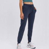 Yoga Outfit Womens Traceout Jogger Беговые спортивные штаны с карманами DrawString Relazed Fit Concered Joggers брюки для лаунджа