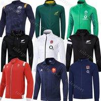 Alle Rugbyjacke Black Schottland Rot Wales Irèland Französisch 2021 Männer Rugby Sweatjersey Hoodies Jacken Trainingsanzüge Neue