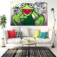 Tuval Ev Dekor üzerinde Parmak Yağlıboya Resim Handpainted / HD-Baskı Duvar Sanatı Resim Özelleştirme kabul edilebilir 21052407