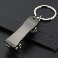 الأزياء الدوارة سكيت لوحة المفاتيح أقراط سكيت قلادة حقيبة معلقة حاملي رئيسية الأزياء والمجوهرات هدية ساندي 157 W2