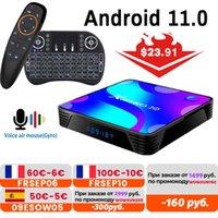 X88 PRO Android 11.0TV Box 2.4G&5.8G Wifi RK3318 4GB 32GB 64GB 128G Support Youtube Set Top Box