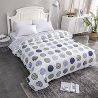 Comforters & Sets Summer Quilt   Comforter Floral Print Quilted Bedspread Blanket Duvet Plaid Patchwork Bed Cover For Adults (NO Pillowcase)