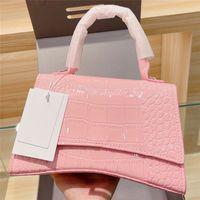 Lady Wallet Handbags Hombro Crossbody Bolsa Purse Caimador Half Moon Mochila Compras Tote Hasp Zipper Pocket CroCodile Mujeres Lujos Diseñadores Bolsos 2021 Bolso