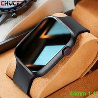 2021 IWO Smart Watch Homens Mulheres T500 Pro Plus Sportwatch Smartwatch Monitor de Coração Pressão arterial Fitness Tracker para Android Iosg