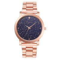 Wristwatches Fashion Quartz Watch Women Bracelet Rose Gold Girls Ladies Steel Band Casual Star Sky Analog Wristwath