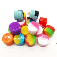 2ml Silicone Dab Containers Dry Herb Storage Box Round Dab W...
