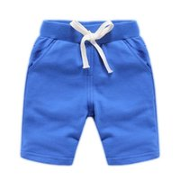 Shorts Boys 2021 Summer Child Fashion Cotton Trousers Kids Solid Beach Children's Pants Clothing Teen Sports