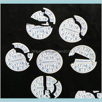Adhesive Stickers Tapes & Stickers Office School Supplies Business Industrial Custom Printing Warranty Sealing Label Sticker Void If T