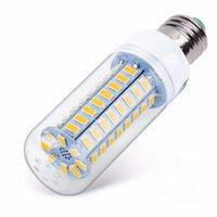 전구 E27 LED 램프 220V SMD 5730 E14 라이트 24 36 48 56 69 72 LED 옥수수 전구 샹들리에 가정 조명을위한