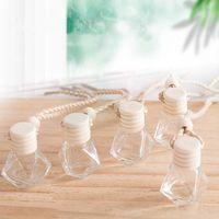 Araba parfüm şişesi kolye parfüm rrnament hava spreyi uçucu yağlar difüzör parfüm boş cam şişe T2I51849