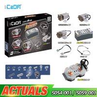 CADA POWER FUNCIÓN S054-001 S059-001 Motor compatible con el motor LEPINBLOCKS TREN CAR 20086 20001 42083 42056 42115 RC Battery Box