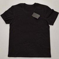 S-5XL Cotton Mens T Shirts Stylist T Shirts Anti-Shrink Women T-Shirts Black Mens Fashion Cotton Man T Shirts Top Short Sleeve Big And Tall