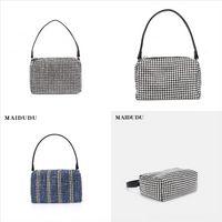 2Q6RZ Orijinal deri beyaz kapaklı çanta veya yandan akordeon kıvrımları katlanmış ön dener çanta