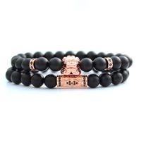 bileklik erkek Chinese Lion natural stone beads braclets for women pulseras hombre mens jewellery bracelet set brazalete hombre