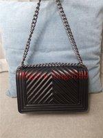 패션 디자이너 여성 크로스 바디 메신저 어깨 가방 체인 가방 좋은 품질 가죽 지갑 숙녀 고용량 핸드백