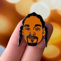 Pins, Brooches Hip Hop Godfather - Snoop Dogg Enamel Pin Brooch Rep Your Favorite Rapper Everywhere You Go!
