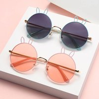 Children's Sunglasses Girls Boys Beach Protective Round Boutique Baby Accessories Kids Ultraviolet-Proof Glasses Fashion Cartoon B4662