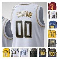 Pantalla personalizada impresa Caris 22 Levert Domantas 11 Sabonis Malcolm 7 Brogdon Myles 33 Turner 1 Warren Man Mujeres Niños Camisetas de baloncesto