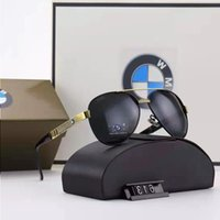 Солнцезащитные очки Поляризованный подарок магазин Похожие очки автомобиль BMW логотип спортивный металл 4S модель на открытом воздухе MCPVL