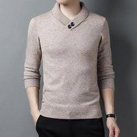 Maglioni da uomo Maglione invernale inverno maglione uomo casual maglia pullover lana slim fit pull homme Autum Jumper Abbigliamento Y313