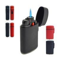 Jet Torch Lighter Windproof Refillable Blue Flame Butane Gas Mini Cigar H0916