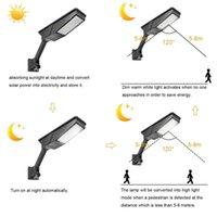 Solar Lamps Outdoor LED Light Waterproof Wall Lamp Multiple Lighting Modes Garden Balcony Radar Microwave Induction