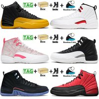 With Box Jumpman 12 12s Low Easter Basketball Shoes XIII Mens Womens Utility TWIST Dark Concord University Gold Arctic Punch Pink Playoffs Sneakers Trainers