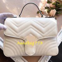 Женщины Luxurys Дизайнерская сумка для цепной сумки для цепной кошелька женская настоящая кожаная сумка мода любовь сердца узор мессенджер Tote оптом