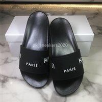 Avec Box 2021Top Qualité Homme Sandales Femmes Slide Sumelle Fashion Été Pantoufles à Flip Flip intérieur Taille EUR36-46