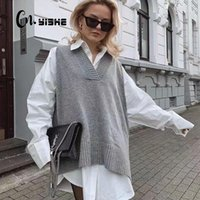 Frauenpullover Cnyishe Winter Pullover Frauen Casual Tops Mode Regelmäßige sexy Pullover