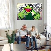 Doigt d'énorme peinture à l'huile sur toile Décor à la maison Decor à la main / HD-Print Art Pictures Personnalisation est acceptable 21052407