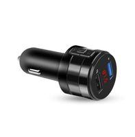 2021 Auto Bluetooth Modulatore trasmettitore FM 3.1a Dual USB Porte USB Caricatore per auto MP3 Player Wireless Ricevitore audio wireless Kit handfree