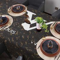 도착 탑 디자이너 테이블 천으로 밝은 고급스러운 티 데스크 TV 캐비닛 커버 아침 식사 식탁보 장식 무료 배송