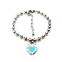 Luxury Bracelet Stainless Steel Ot Buckle Couple Fashion Chain on Hand Blue Pink Green Red Gifts for Girlfriend Accessories Wholesale