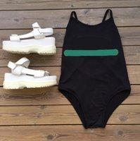 Fashional Designer Bikini Für Frauen Sexy Einteilige Badeanzüge Sommer Buchstaben Druck Bademode 4 Arten Dame Backless Badeanzüge S-XL