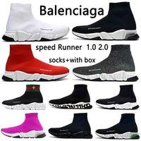 Üst Moda 2020 ACE Lüks Tasarımcı Çorap Ayakkabı Kadın Erkek Rahat Ayakkabılar Siyah Sarı Üçlü Beyaz Grafiti Vintage Düz Çorap Çizmeler Sneakers