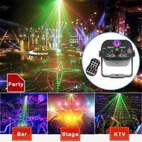 High Quality Holiday Laser Disco Lights 60 Patterns Colorful DJ LED Gadget Stage Lights USB Rechargeable Party Birthday Laser Light Projector