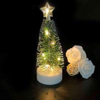 Yeni LED Işık-Yayan Elektronik Mum Noel Dekorasyon Üç Dişli Anahtarı Noel Ağacı Lambası