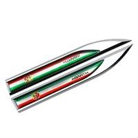 Per Abarth 500 595 695 Punto Berlinetta Cabrio Italia Auto Side Sticker Auto Porta Auto Vita Linea Emblema Badge Accessori per esterni