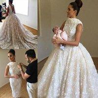 Amazing Full Lace Appliques Sheath Wedding Dresses With Detachable Long Train Open Back Sleeveless Bridal Gowns Saudi Arabia Wedding Vestido