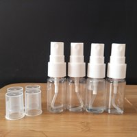 10ml Clear PET Small Plastic Transparent Cosmetic Mist Spray Pump Bottles For Disinfectant Sprayer DH5511